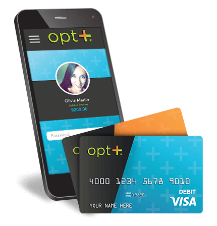 Prepaid Debit Card from Opt+