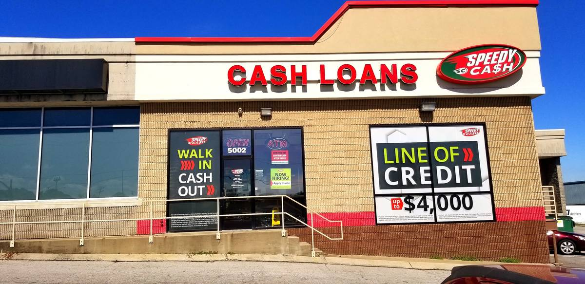 Speedy Cash in Nashville on Harding Place and Antioch Pike