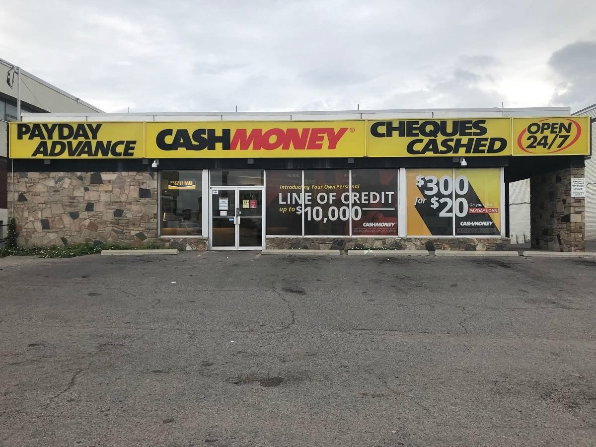 Cash Money store at 2137 Jane St Toronto, ON M3M 1A2