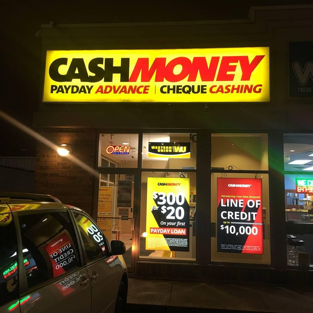 Cash Money store at 1733 Eglinton Ave E Scarborough, ON M4A 1J8