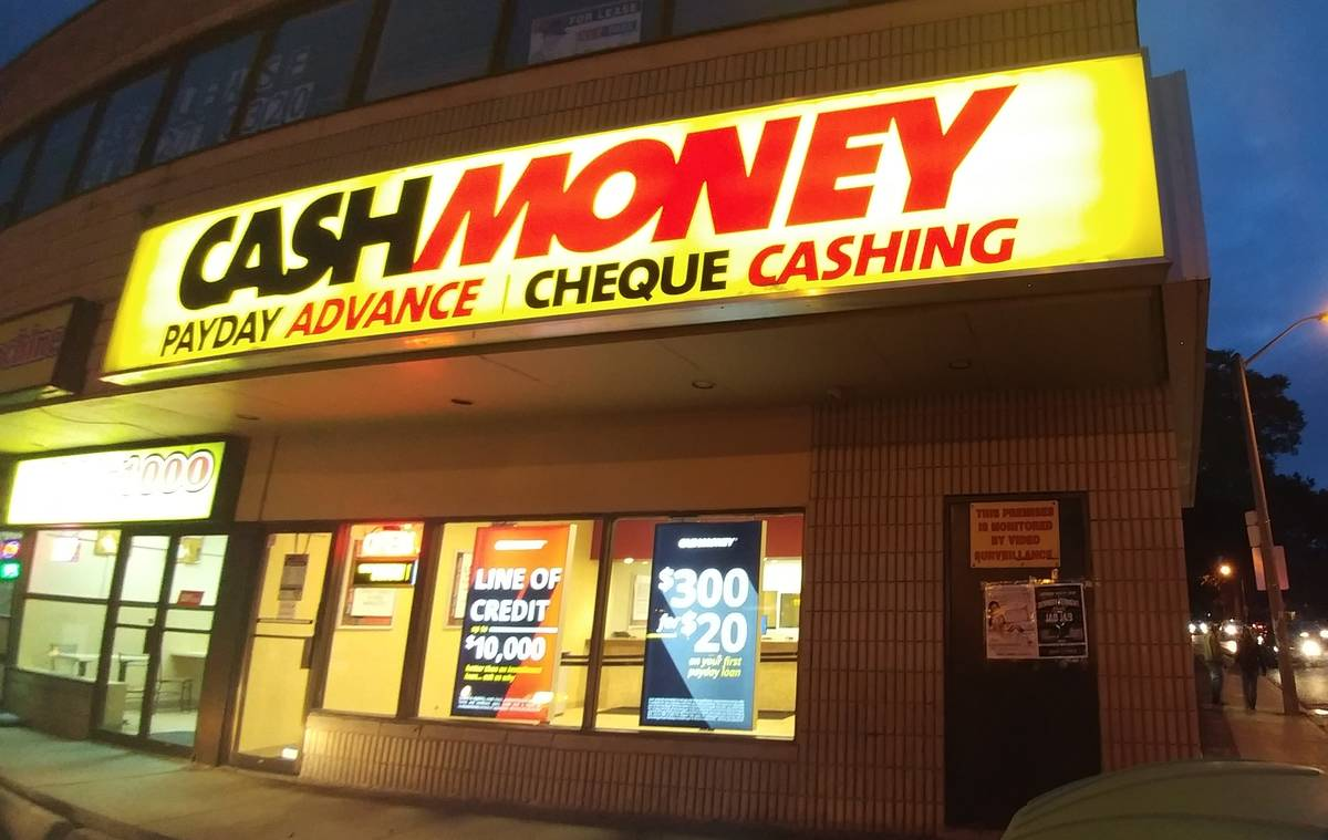 Cash Money store at 1682 Jane St