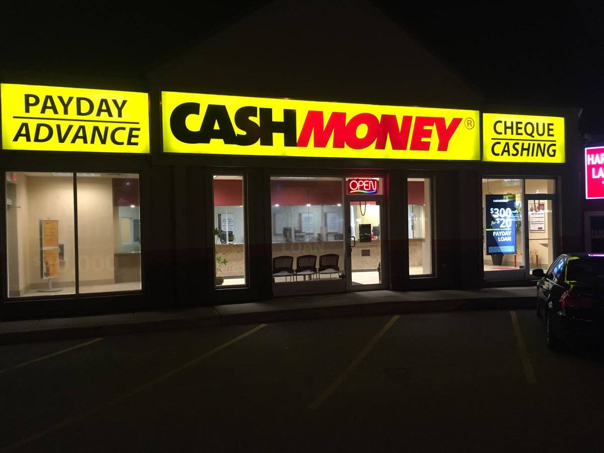 Cash Money store at 69 Davis Dr