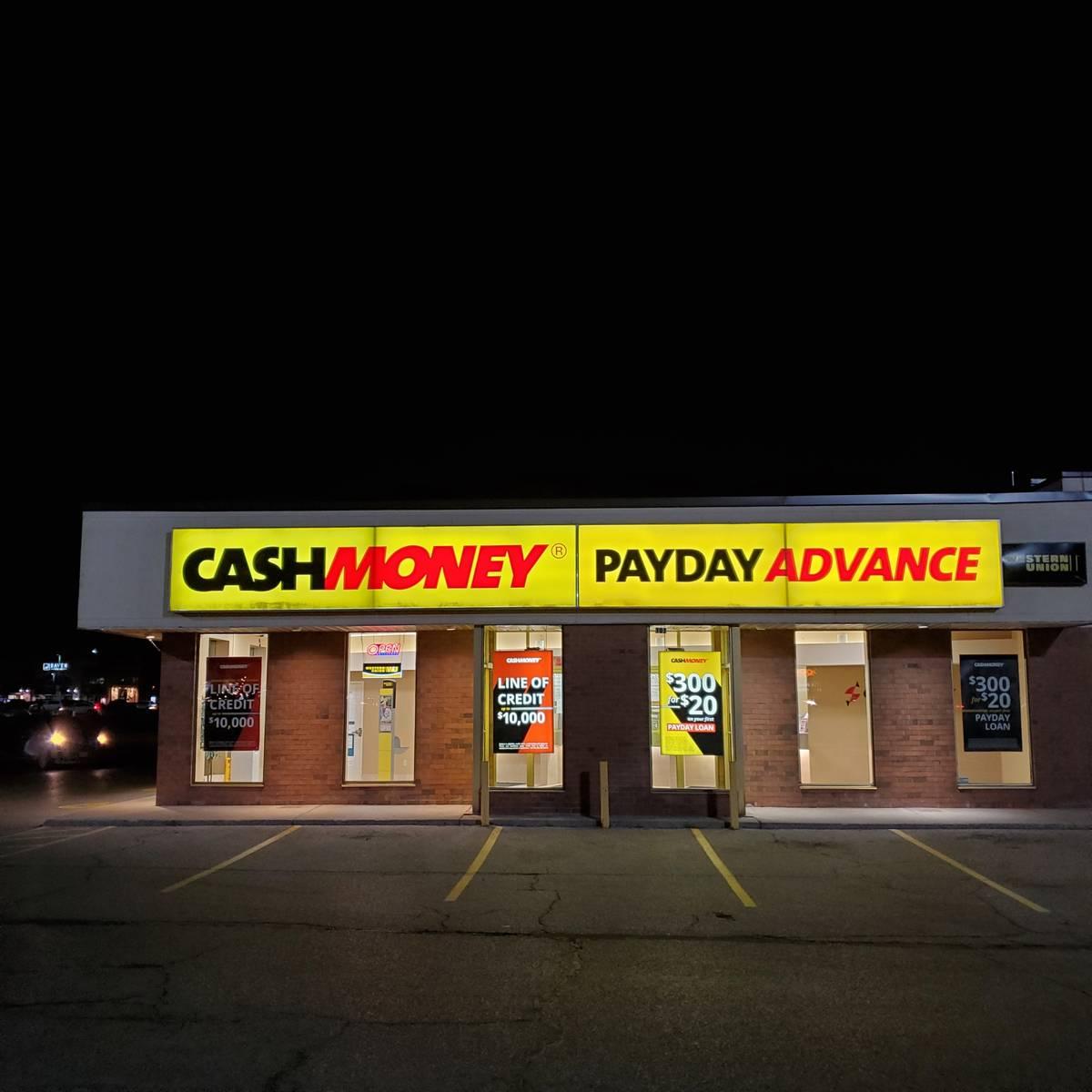 Cash Money store at 4396 King St E Kitchener, ON N2G 3W6