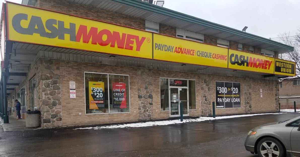 Cash Money Store at 3932 Keele St Toronto, ON M3J 1N8