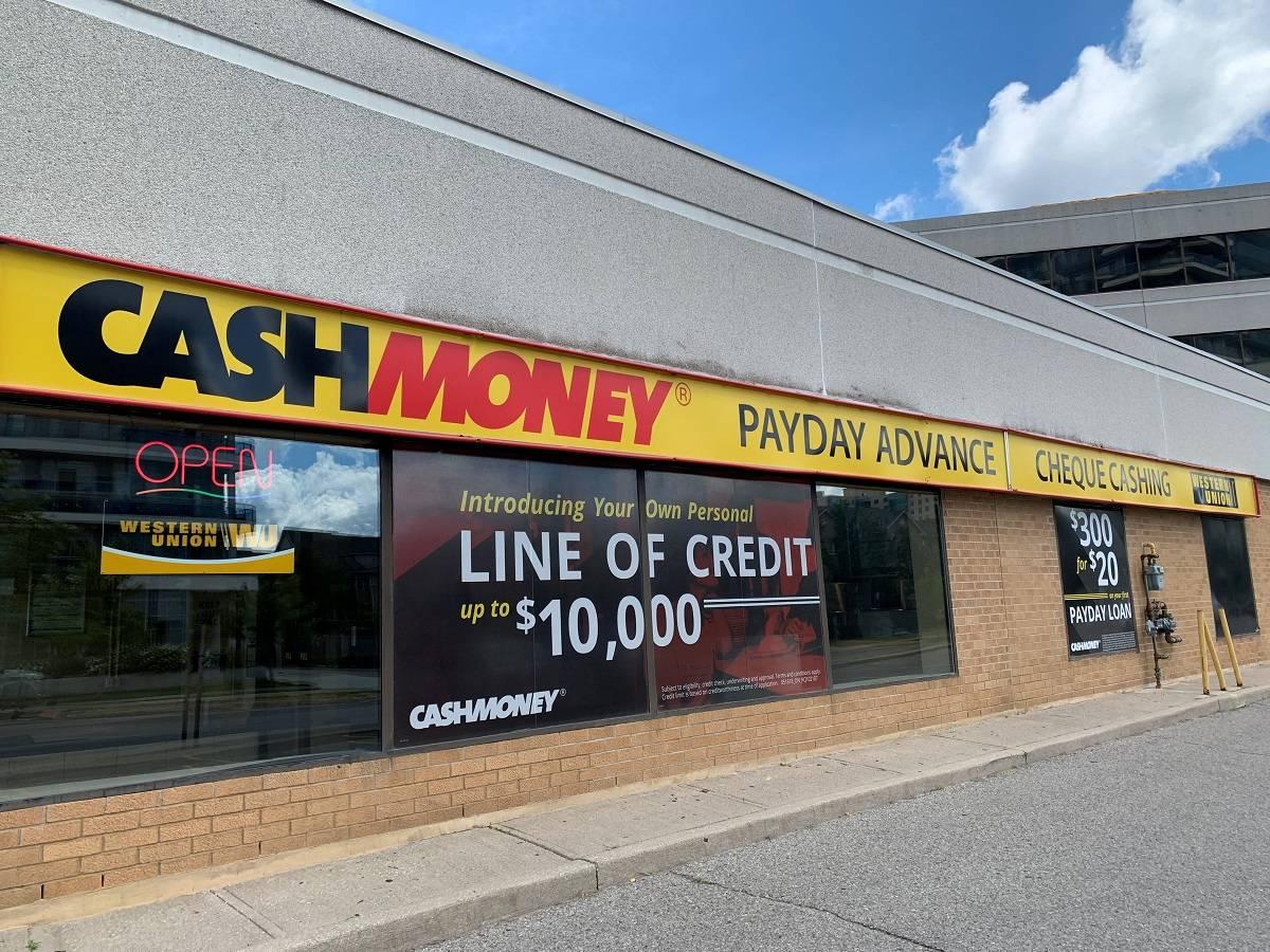 Cash Money store at 9555 Yonge St Unit 25 Richmond Hill, ON L4C 9M5