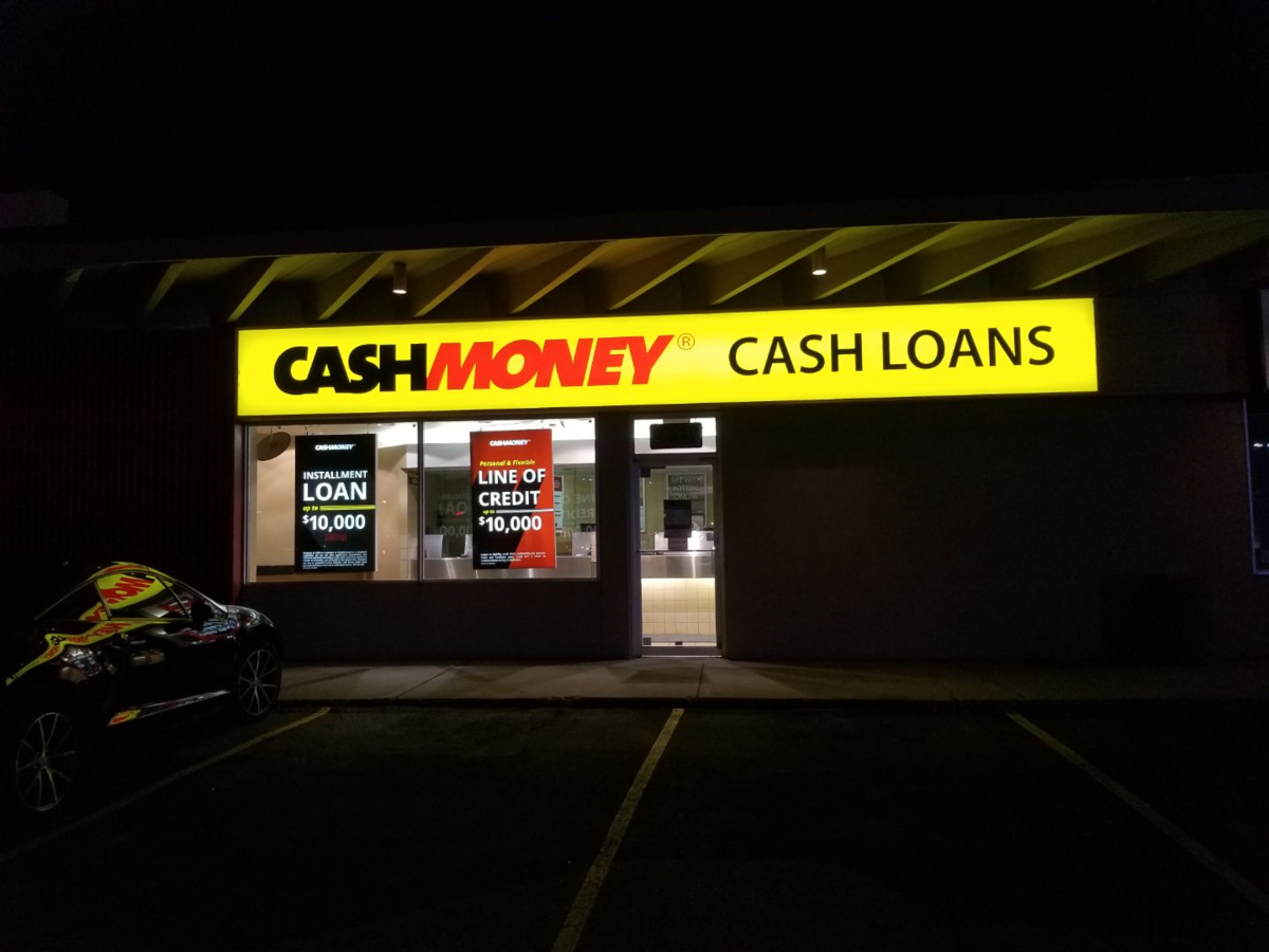 Cash Money store at 9847 63rd Ave NW Edmonton, AB T6E 0G7