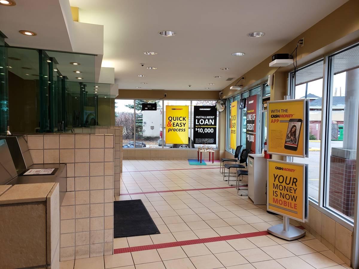 Cash Money store at 14339 Macleod Trail SE Calgary, AB T2Y 1M7