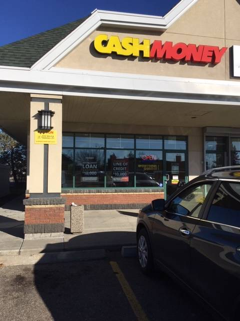 Cash Money store at 9626 165th Ave NW