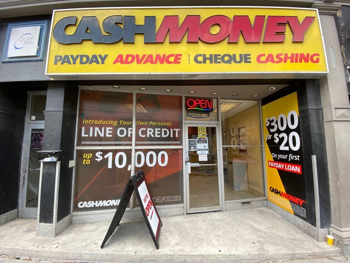 Cash Money stores at 113 Rideau St Ottawa, ON K1N 5X1