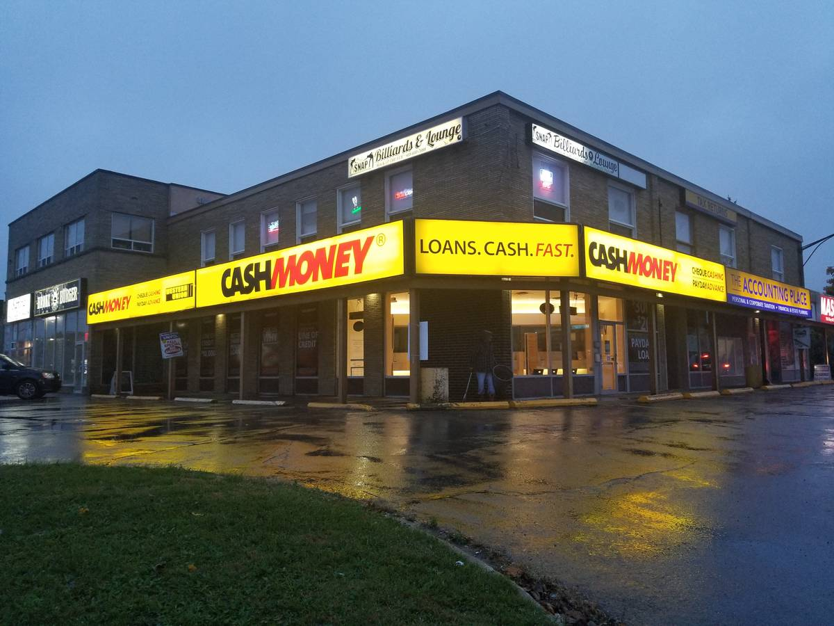 Cash Money stores at 158 Hwy #8