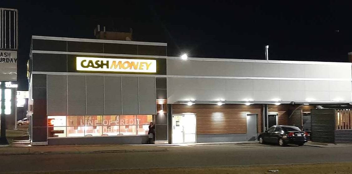 Cash Money store at 4604 Macleod Trail SW Calgary, AB T2G 0A8