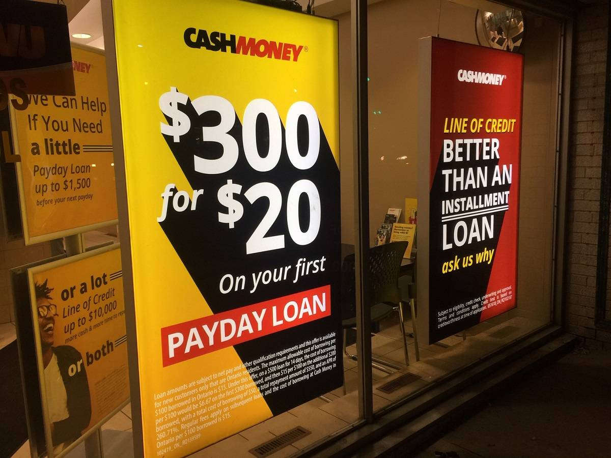 Cash Money store at 883 St. Clair Ave W