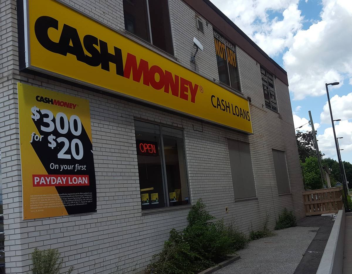 Cash Money store at 3111 Dufferin St