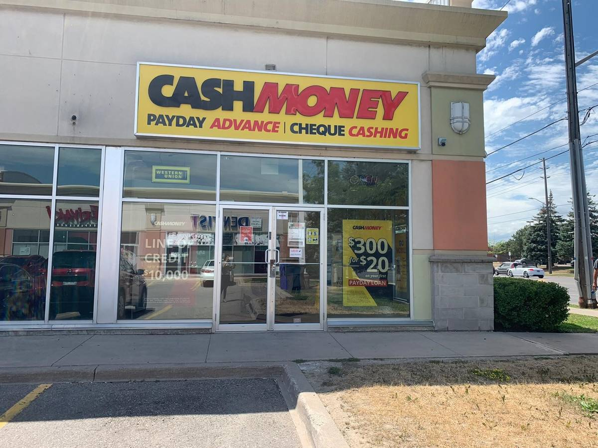 Cash Money Store at 2071 Steeles Ave W