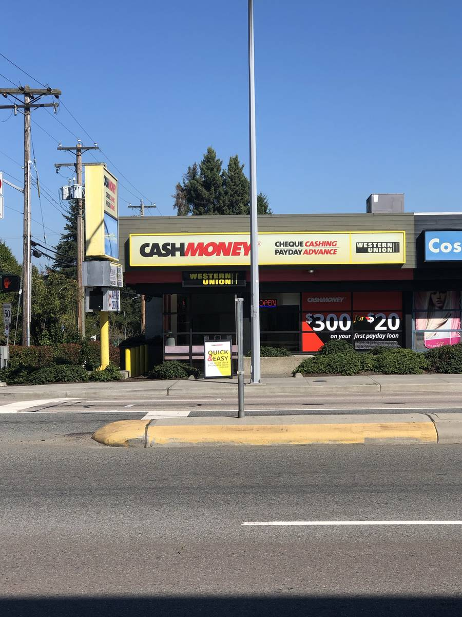 Cash Money store at 103B - 8386 120th St
