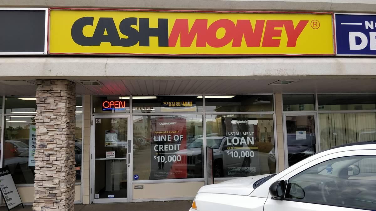 Cash Money store at 13552 97th St NW Edmonton, AB T5E 4E2