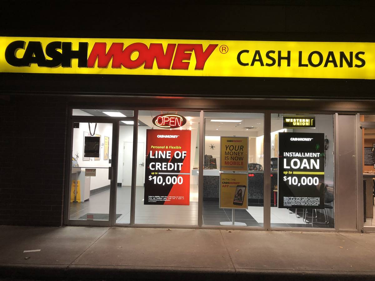 Cash money store at 6060 Memorial Drive NE Calgary, AB T2A 5Z5