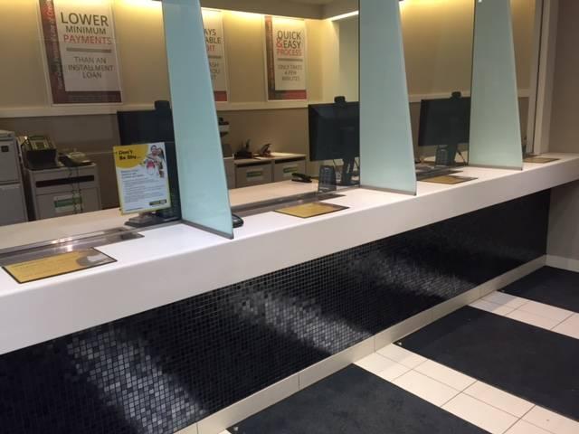 inside Cash Money store in London Ontario