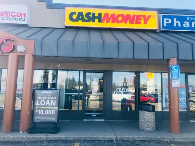 Cash Money store at 13040 50th St NW Edmonton, AB T5A 4V9