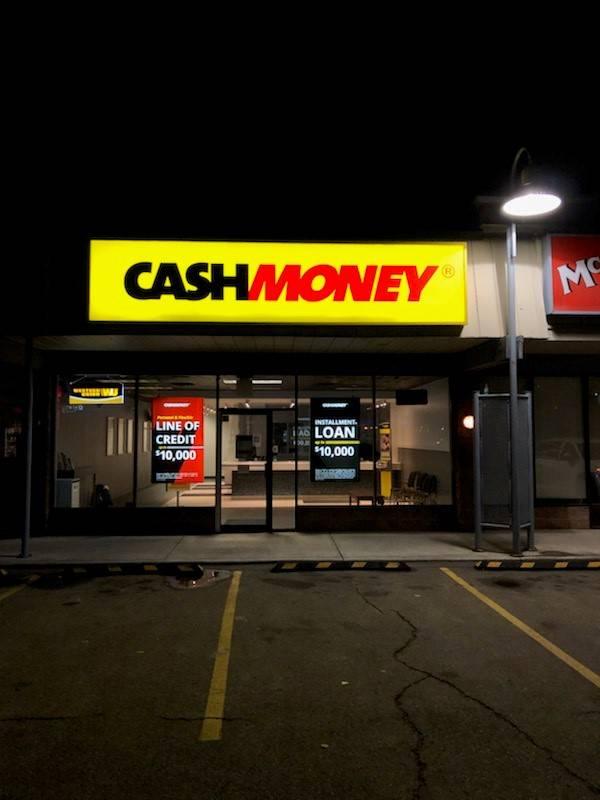 Cash Money store at Bay 18 9250 Macleod Trail SE Calgary, AB T2J 0P5