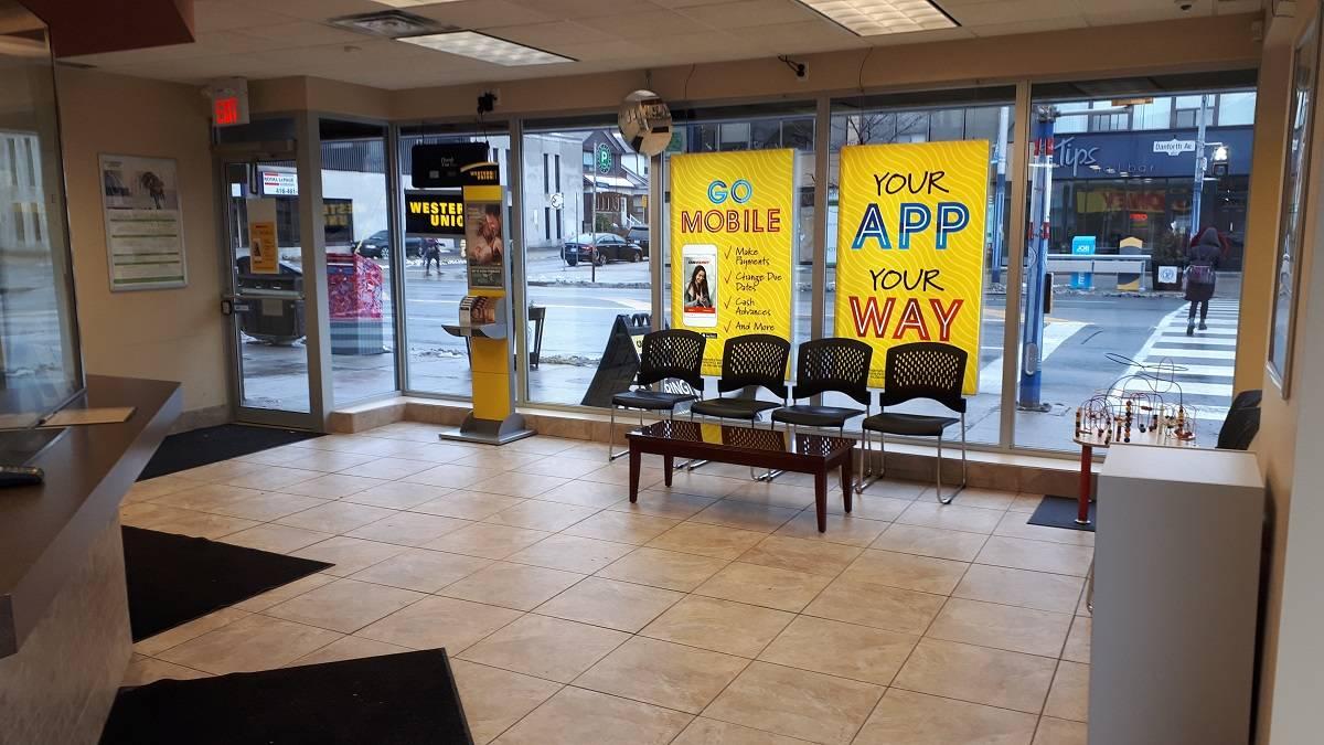 Cash Money store at 851 Danforth Ave Toronto, ON M4J 1L2