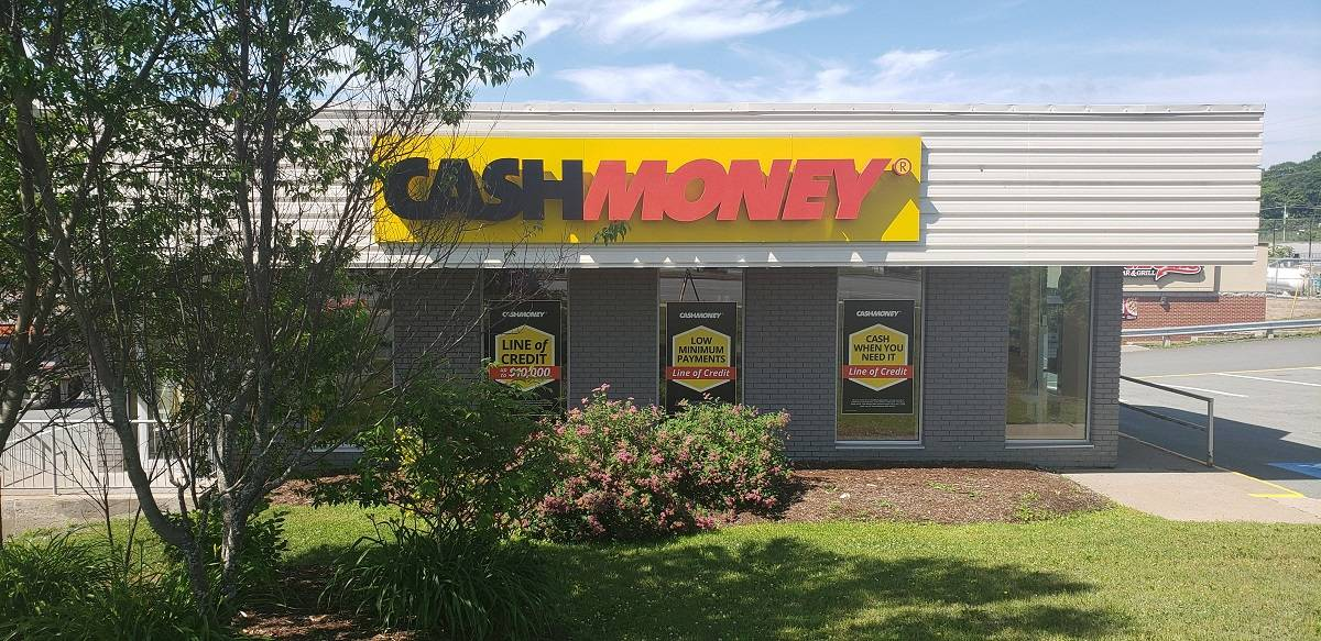 Cash Money store at 808 Sackville Dr