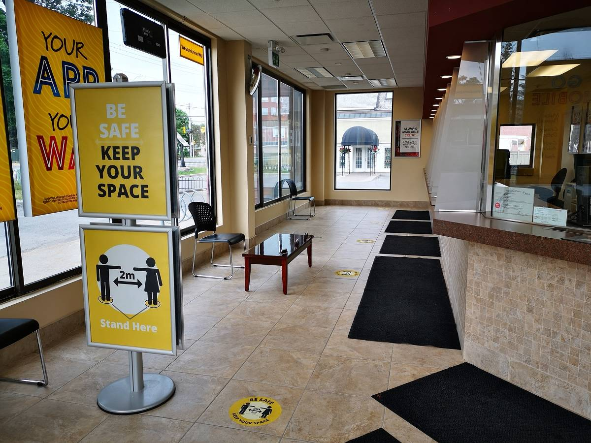 Inside Cash Money stores in Ottawa Ontario