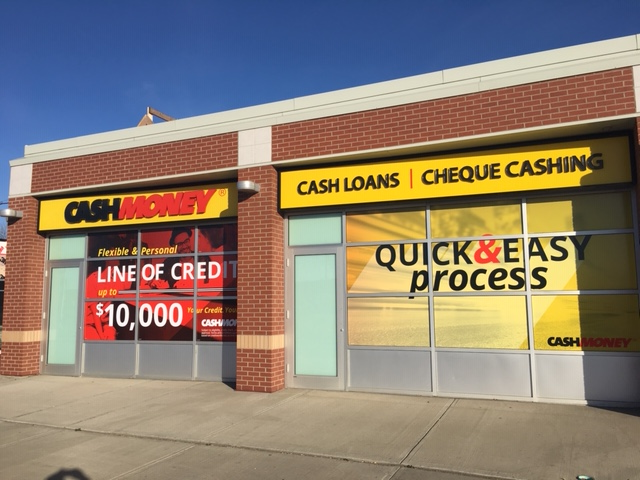 Cash Money store at 6614 127th Ave NW Edmonton, AB T5C 1P9