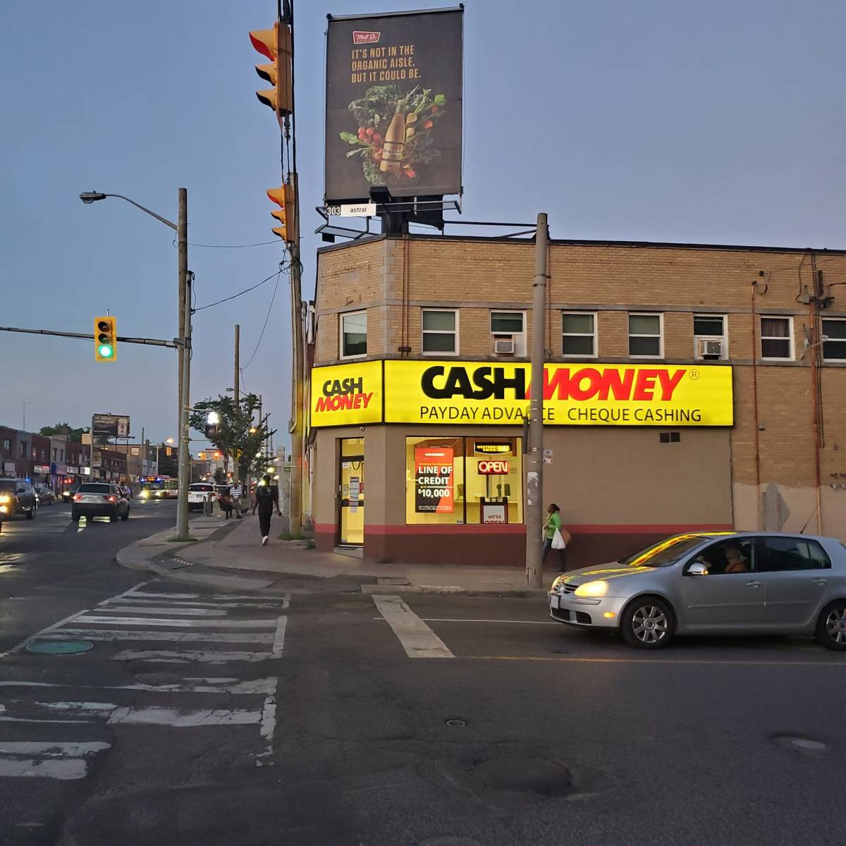 Cash Money store at 1575 Eglinton Ave West Toronto, ON M6E 2G9