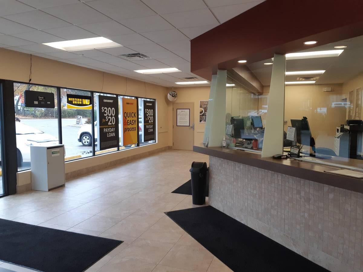 Cash Money store at 3104 27th St Vernon, BC V1T 4M6