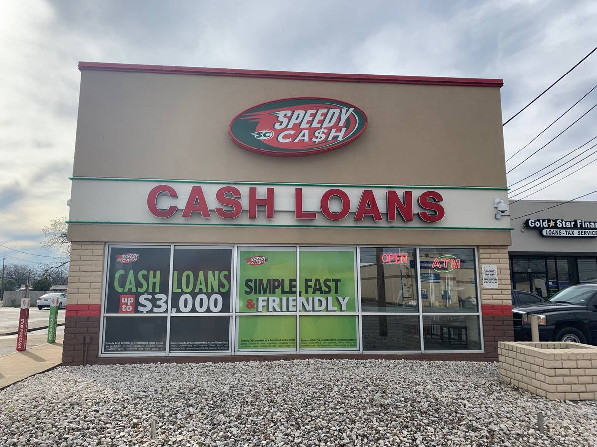 Sw Military Dr Amp Commercial Ave Speedy Cash