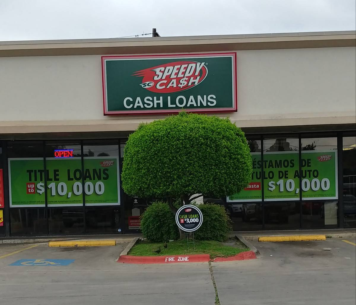 Austin Speedy Cash store exterior
