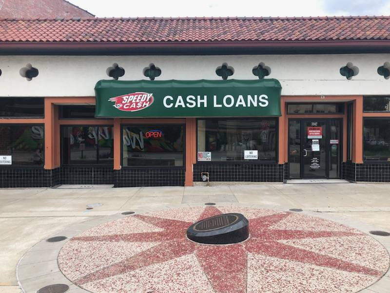 Speedy Cash on Main St.