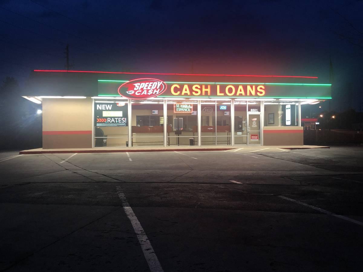 Speedy Cash on E. Evans