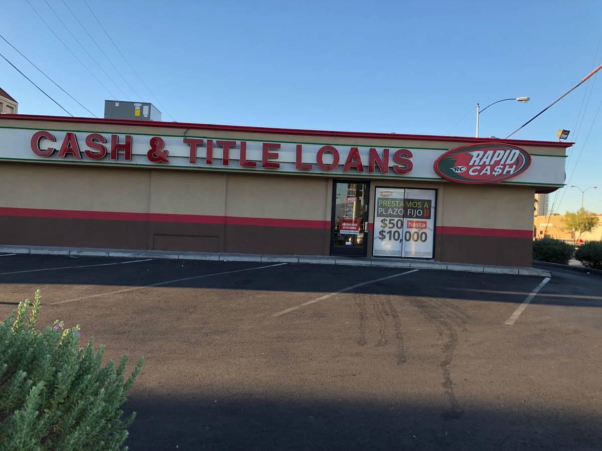 Rapid Cash exterior