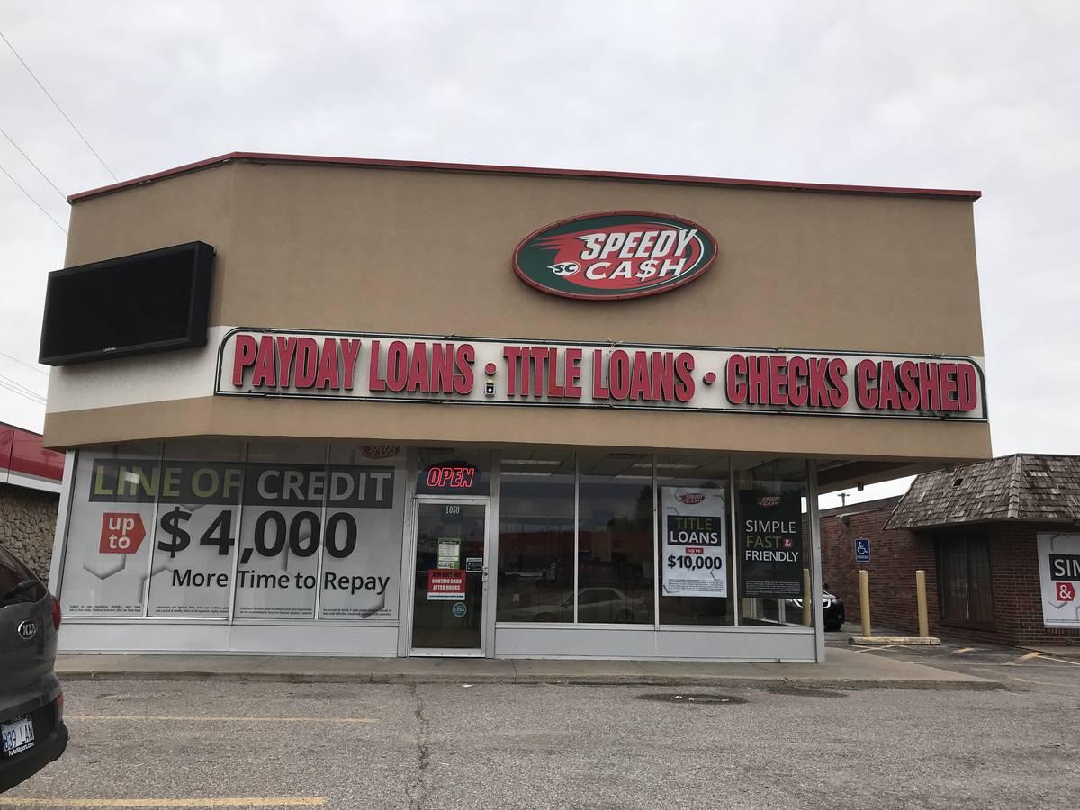Payday Loans Wichita Ks >> Pawnee & Seneca - Speedy Cash