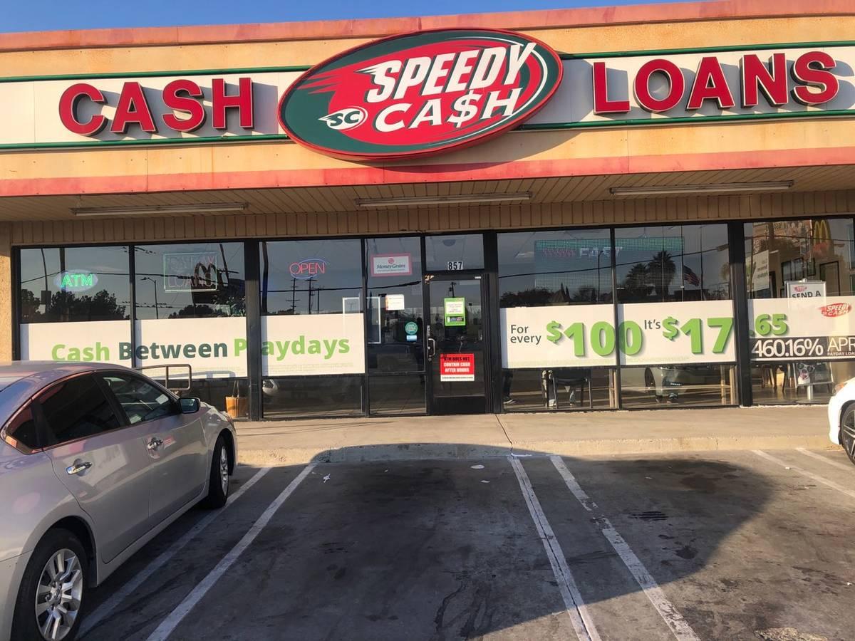 Speedy Cash exterior in Gardena